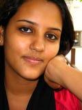 индийская женщина портрета Стоковая Фотография RF