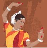 индийская женщина бесплатная иллюстрация