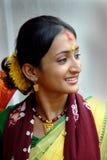 индийская женщина стоковое изображение