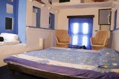 Индийская комната кровати Стоковые Фотографии RF