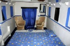 Индийская комната кровати Стоковое фото RF