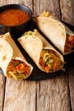 Индийская популярная легкая закуска вызвала блинчики с начинкой Овоща или veg r Стоковое Изображение