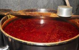Индийская тарелка-Rasam Стоковые Фотографии RF