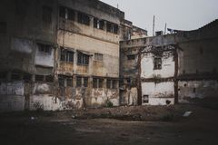Индийская улица приземляется выглядеть внушительна стоковые фотографии rf