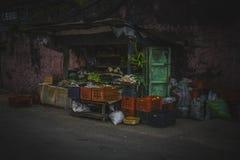 Индийская улица приземляется выглядеть внушительна стоковые фото