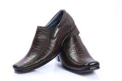 индийские ботинки людей s стоковые фотографии rf