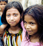 Индийские девушки Стоковые Изображения