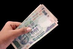 индийские деньги Стоковые Изображения RF