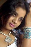 индийские детеныши женщины Стоковое Изображение RF