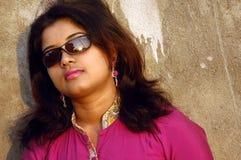 индийские детеныши женщины Стоковая Фотография RF