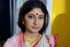индийские детеныши женщины Стоковое Изображение