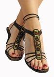 индийские женщины ног s сексуальные стоковое фото