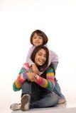 индийские любящие сестры Стоковые Изображения