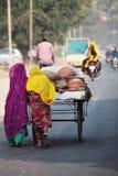 Индийские поставщики гончарни Стоковое Изображение