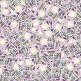 индийские рупии безшовной текстуры Стоковая Фотография
