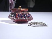 Индийские ювелирные изделия влюбленности Стоковая Фотография RF