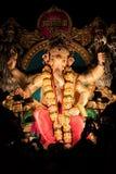 Индийский бог известный как Ganesh или Ganapati стоковые фотографии rf