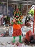 Индийский бог Hanuman стоковые фото