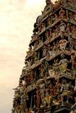 индийский висок статуй Стоковая Фотография