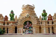 индийский висок Стоковая Фотография