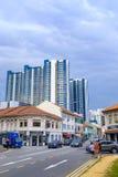 Индийский квартал в Сингапуре Стоковые Изображения RF