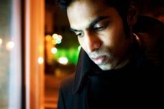 индийский мыжской портрет стоковая фотография rf