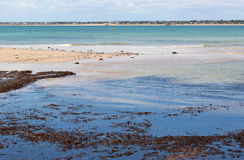 Индийский океан на Mandurah западном Австралии стоковые фото