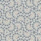 Индийский орнамент абстрактных непрерывных огурцов иллюстрация вектора