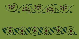 индийский орнамент уроженца мандала Стоковое Изображение RF