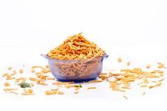 Индийский порошок еды стоковая фотография