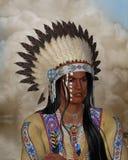 индийский портрет Иллюстрация вектора