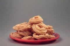 Индийский рецепт Murukku стоковые изображения