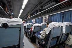 индийский роскошный поезд Стоковое Изображение
