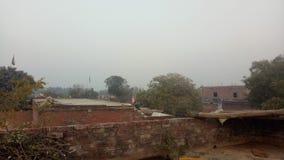 индийская деревня стоковые фотографии rf