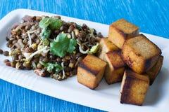 индийский салат чечевицы Стоковое Изображение RF