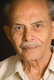 индийский старший Стоковая Фотография