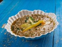 Индийский суп чечевицы Стоковые Изображения