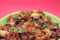 Индийский традиционный рецепт гриба Стоковая Фотография