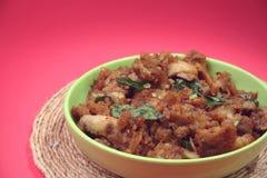 Индийский традиционный рецепт гриба Стоковые Изображения RF