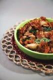 Индийский традиционный рецепт гриба Стоковая Фотография RF