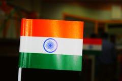 Индийский флаг стоковое изображение rf