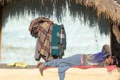 индийский человек соплеменный Стоковые Фото