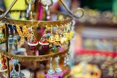 Индийский finery на Индии справедливой стоковые фото