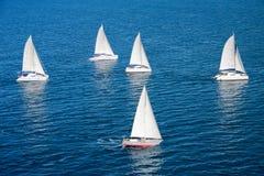индийский regatta океана Стоковые Изображения RF