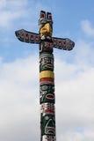 индийский totem Стоковая Фотография
