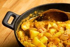 индийский vegetarian еды Стоковые Изображения RF