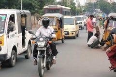 Индийское место улицы Стоковые Изображения RF