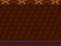 индийское сари печати Стоковые Фото