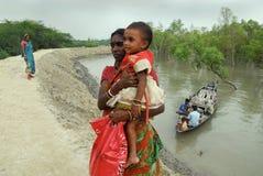 индийское село жизни Стоковые Фото