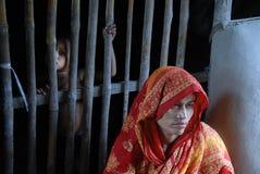 индийское село жизни Стоковое Изображение RF